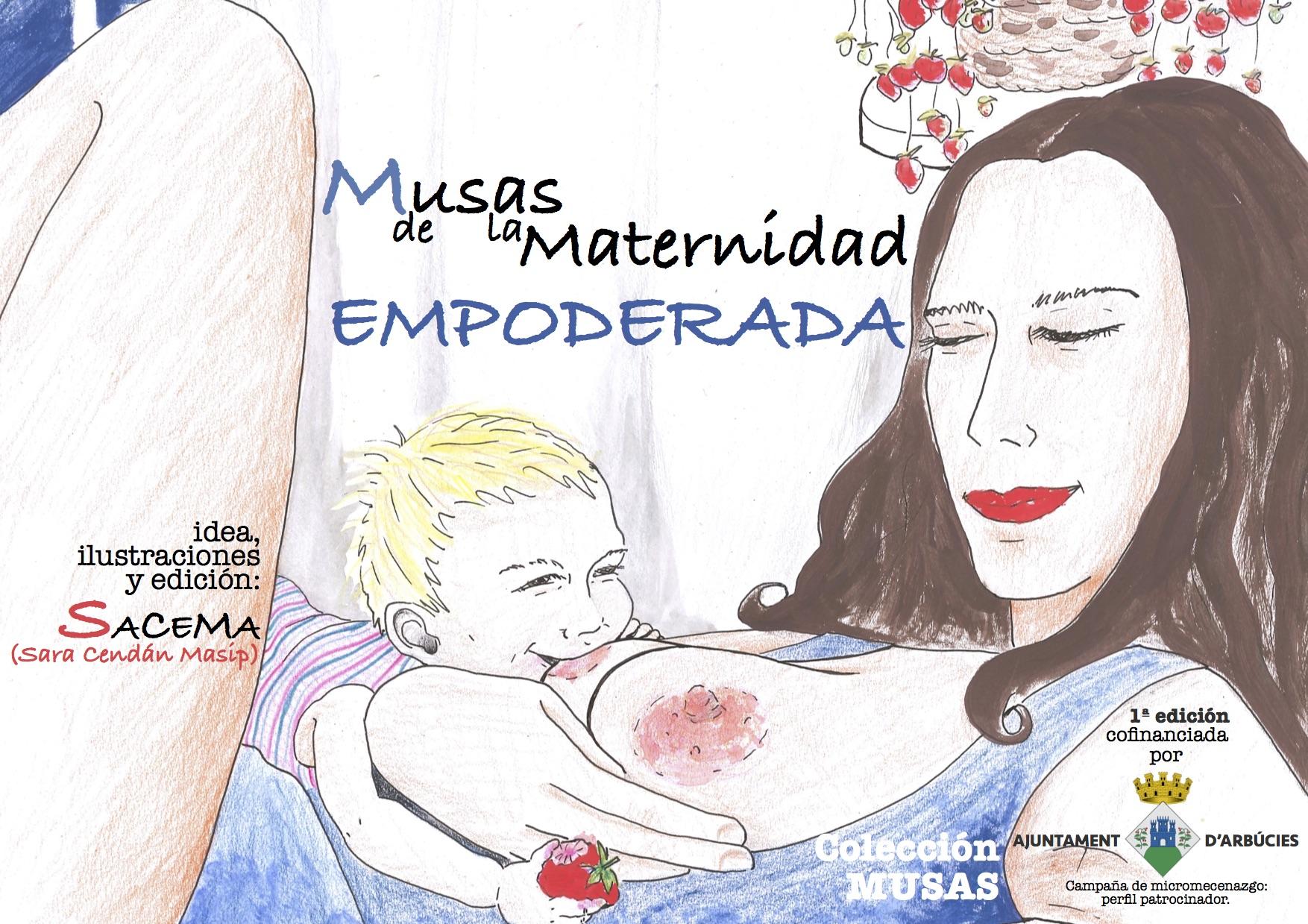 Portada Muses Maternidad 1ª Edición CAST